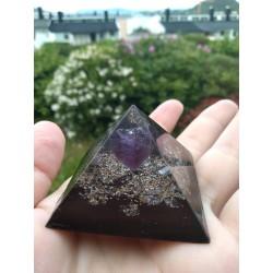 Orgone Ametyst Minipyramide
